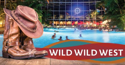 Eventnacht Wild Wild West im BADEPARADIES SCHWARZWALD