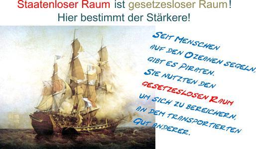 Piraten an die Macht! Seehandelsrecht 2016