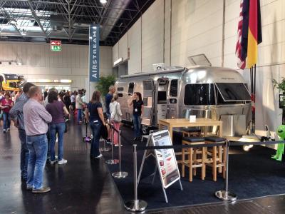 Airstream auf dem Caravan Salon