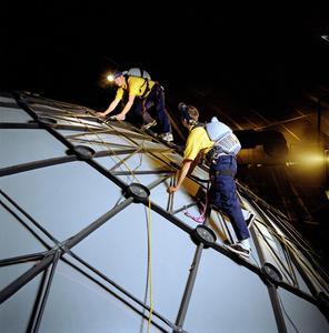 Umbau IMAX Dome Speyer