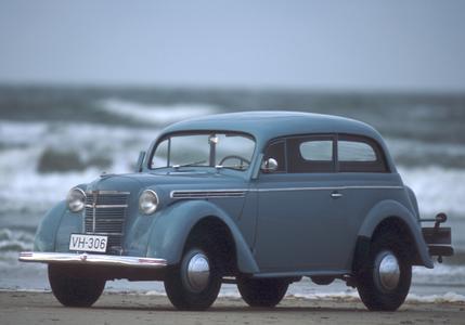 Aller Anfang: Von 1936 bis 1940 liefen im Rüsselsheimer Stammwerk 107.000 Kadett 1 vom Band. Foto Opel AG