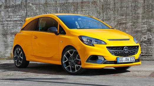 In den Startlöchern: Beim neuen Opel Corsa GSi sorgt der kraftvolle 1,4-Liter-Turbobenziner mit 110 kW/150 PS für viel Fahrspaß