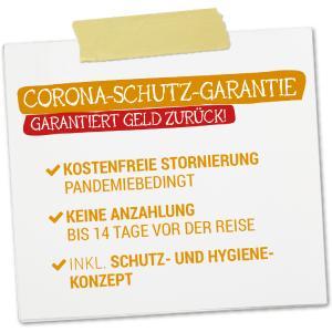 Corona-Schutz-Garantie