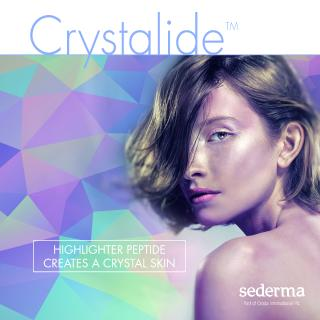 CRYSTALIDE™, Sederma's newest highlighter-like peptide for a crystal-clear skin