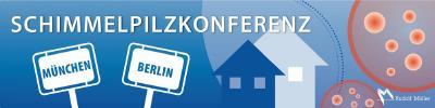 Aufgrund großer Nachfrage wird die in Berlin bereits seit Jahren etablierte Schimmelpilzkonferenz mit den gleichen Themen und Referenten auch noch einmal am 25. September 2018 in München stattfinden!