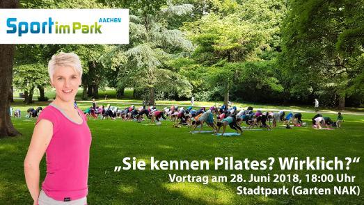 Stefanie Rahn bei Sport im Park Aachen