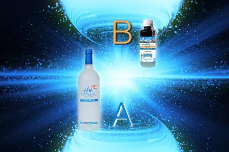 Curystal Concept A+B für maximale Bioverfügbarkeit