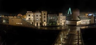 Neue Illumination des Schokoladenmuseums Köln