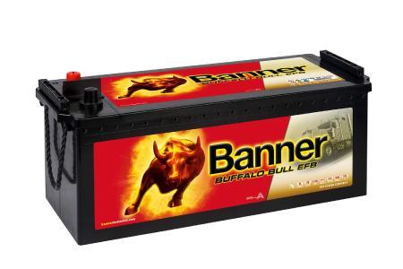 Buffalo Bull EFB Batterie: die Fernlaster-Power. Fotocredit: © Banner GmbH