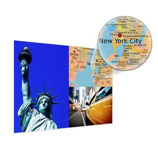 Geben der Reisedokumentation einen besonderen Rahmen: die neuen Poster mit Landkarten von CEWE COLOR.