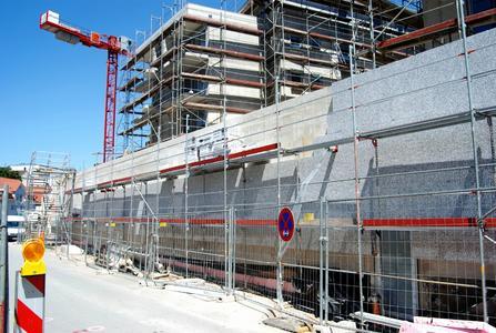Sämtliche Gebäude-Außenwände wurden mit einem Capatect Wärmedämm-Verbundsystem versehen, um den Energiebedarf zu minimieren, Foto: Caparol Farben Lacke Bautenschutz/Achim Zielke