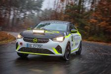 Development of Opel Corsa-e Rally Underway