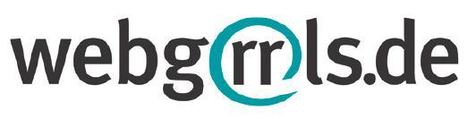 Logo webgrrls.de