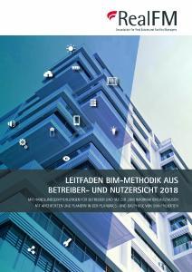 """Titel """"BIM-Methodik aus Betreiber- und Nutzersicht 2018"""""""