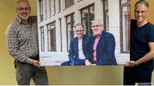 15 Jahre Partnerschaft: Thomas Beers und Gunnar Altenfeld