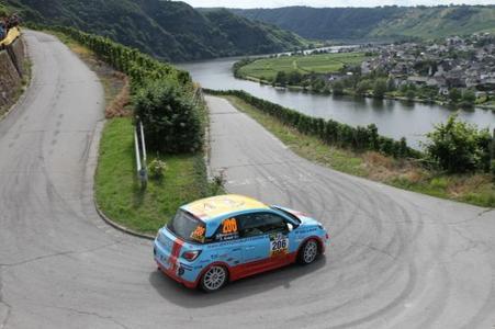 Topleistung: Emil Bergkvist fuhr der Konkurrenz bei der 3-Städte Rallye davon