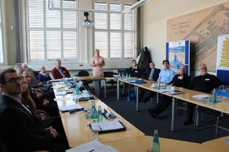 Forschungsprofessorin Margit Scholl stellte neue Methoden und Werkzeuge zur Sensibilisierung für Informationssicherheit vor. © TH Wildau Pressefoto