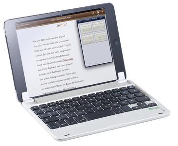 GeneralKeys Aufsteckbare Bluetooth-Tastatur für iPad mini/mini 2/3