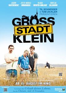 """Filmplakat """"GROSSSTADTKLEIN""""/©2013 Mr. Brown Entertainment Filmproduction GmbH/Warner Bros. Entertainment GmbH/Sevenpictures Film GmbH / Alle Rechte vorbehalten"""