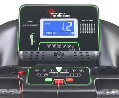 NX 5883  newgen medicals Profi Laufband und Fitness Station LF 512.multi