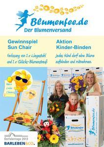 Blumenfee Blumenversand Messe Aktionen Ostfalentage 2015