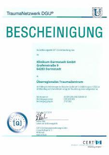 Zertifikat UETZ bis 2022