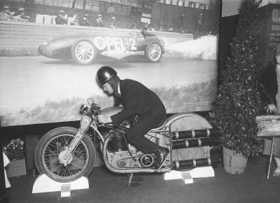 1928 Raketenantrieb Opel Motoclub IAMA Berlin