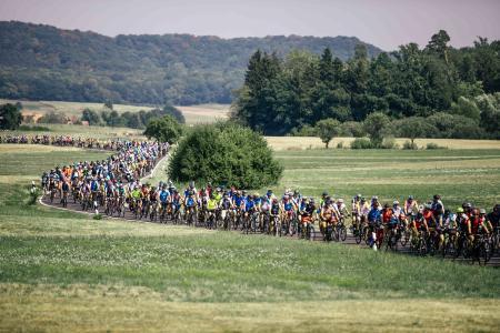 Bad Füssing ist in diesem Jahr Zielort der BR-Radltour. Die Vorbereitungen laufen auf Hochtouren. Foto: obx-news/Bayerischer Rundfunk