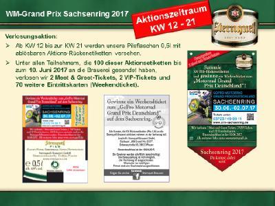VIP-Tickets für Motorrad Grand Prix werden verlost