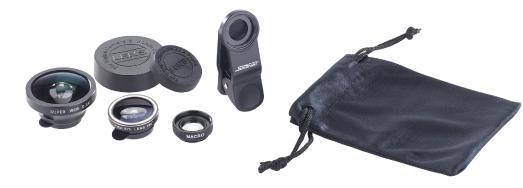 NX 4159 1 Somikon Premium Smartphone Vorsatz Linsen Set