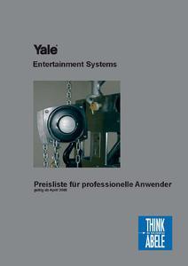 Bildpreisliste von Yale (Foto: Think Abele)