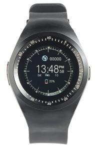 NX 4364  simvalley MOBILE 2in1 Uhren Handy und Smartwatch fuer iOS und Android rundes Display