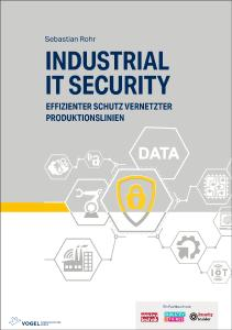 Titelseite Fachbuch Industrial IT Security