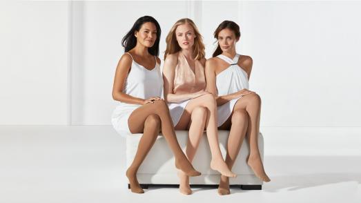 Für jeden Hautton die passende Farbe: die neuen mediven Trendfarben harmonieren zum individuellen Hautton und unterstreichen die natürliche Schönheit