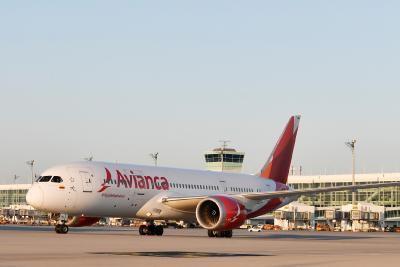 Die fünf wöchentlichen Flüge zwischen München und Bogotá werden mit modernen Flugzeugen vom Typ Boeing 787-8 durchgeführt / Foto: Alex Tino Friedel / Copyright: Flughafen München GmbH, Unternehmenskommunikation