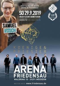 Konzertabend am 29. September zur Eröffnung der neuen Arena in Friedensau
