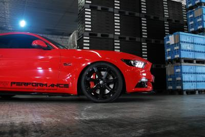 Cor.Speed Sports Wheels Europe: Challenge rims for the muscle car bestseller - the Ford Mustang