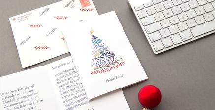 Professionelle weihnachtsgr e versenden ekla agentur for Weihnachtskarten online versenden