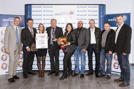 Das Autohaus Voss gewinnt den Deutschen Werkstattpreis 2013