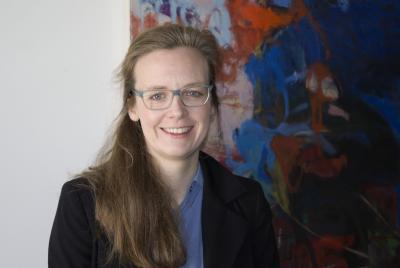 Prof. Dr. Annika Frye / Foto: Eva Fischer/Muthesius Kunsthochschule
