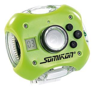 Somikon Wasserfeste Action- & Haustierkamera SPC-130 mit 0,3 MP