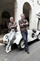 BMW dispatched one legendary automobile and two celebrated designers to contest the 2011 Mille Miglia