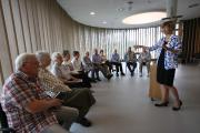 Andrea Laun-Tempel mit dem Parkinson-Chor / Foto: U. Arslan
