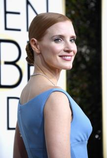 Jessica Chastain - 74th Annual Golden Globe Awards