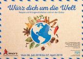 Neue Ausstellung im Spicy's Gewürzmuseum: Würz dich um die Welt - Rezepte und Würzgewohnheiten rund um den Globus