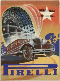 Werbeplakat für den Stella Bianca aus dem Jahr 1931