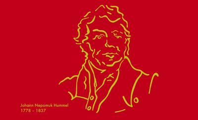 Johann Nepomuk Hummel (Grafik: Dipl.-Des. Susanne Tutein)