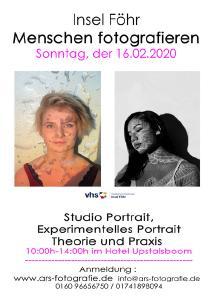 Ankündigung Fotokurs Portrait von ARS-Fotografie