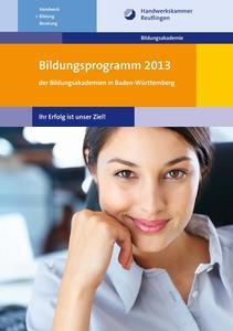 Bildungsprogramm 2013