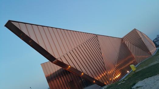 Projekte wie das Museum of Fire in Zory, Polen, werden ausführlich auf der Webseite copperconcept.org vorgestellt. Bild: ECI